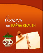 Essays on Karwa Chauth