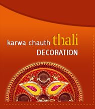 Karwa Chauth Thali Decoration
